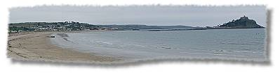 Panorama of Marazion